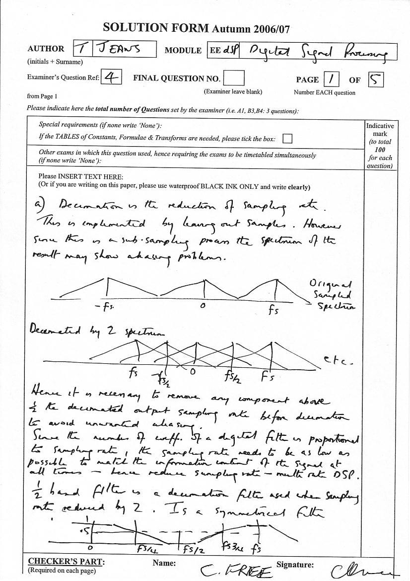 san question paper