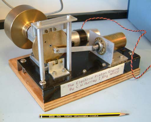TSU Work for research - solenoid engine